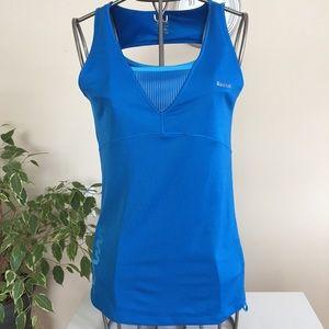 Reebok blue active wear shirt